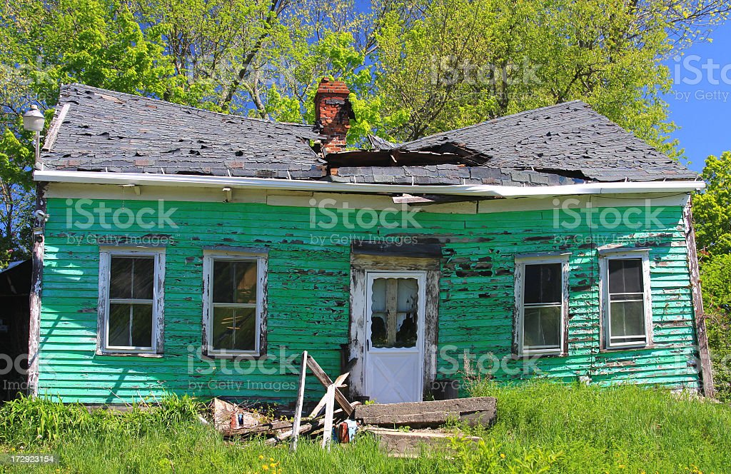 Abandoned House stock photo