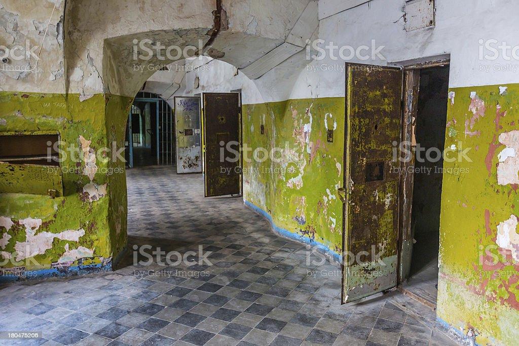 Abandoned Jail in Tallinn royalty-free stock photo