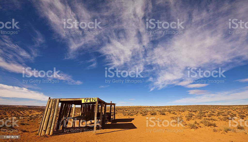 Abandoned Jewelry Stand royalty-free stock photo
