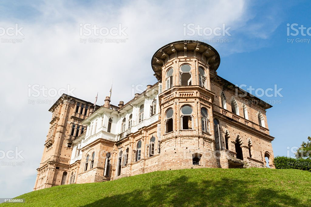 Abandoned Kellie's Castle in Batu Gajah, Malaysia stock photo