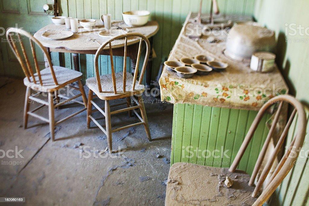 Abandoned kitchen royalty-free stock photo