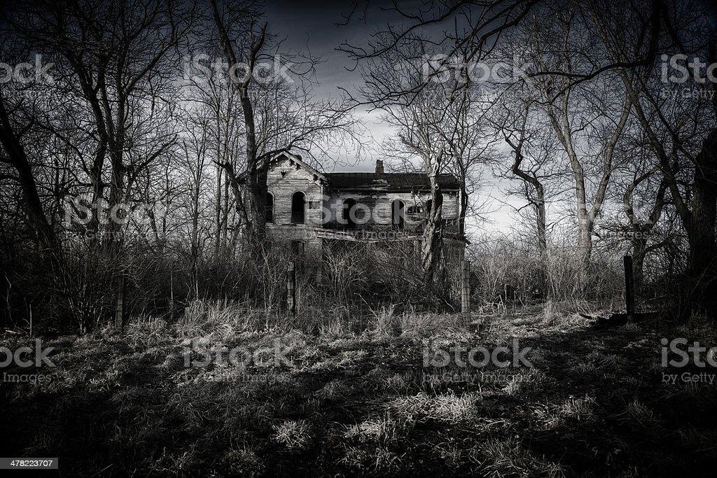 Abandoned Manor royalty-free stock photo