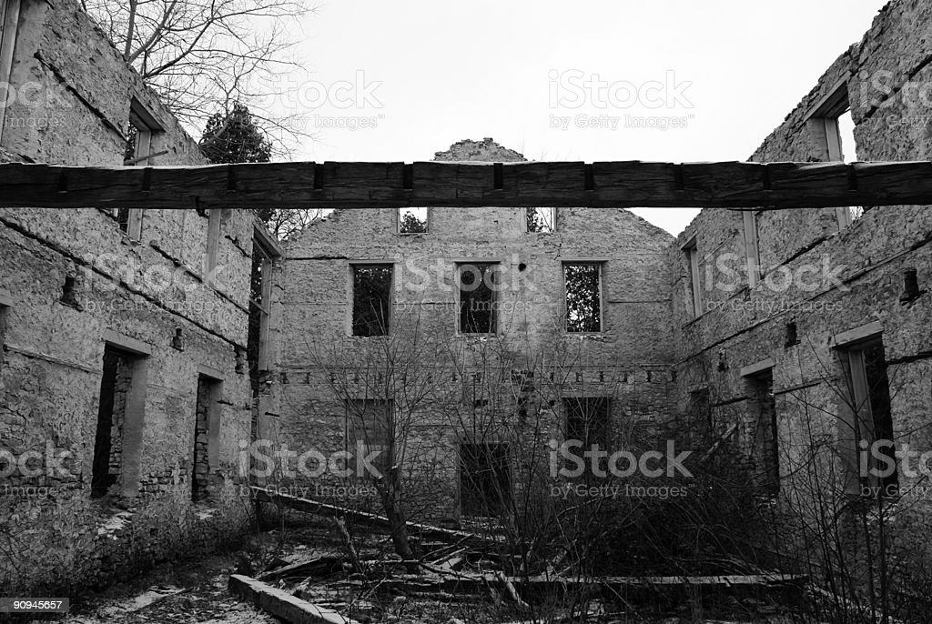 Abandoned Mill royalty-free stock photo
