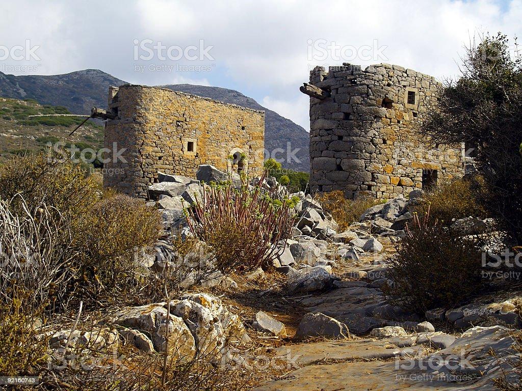 abandoned mills royalty-free stock photo