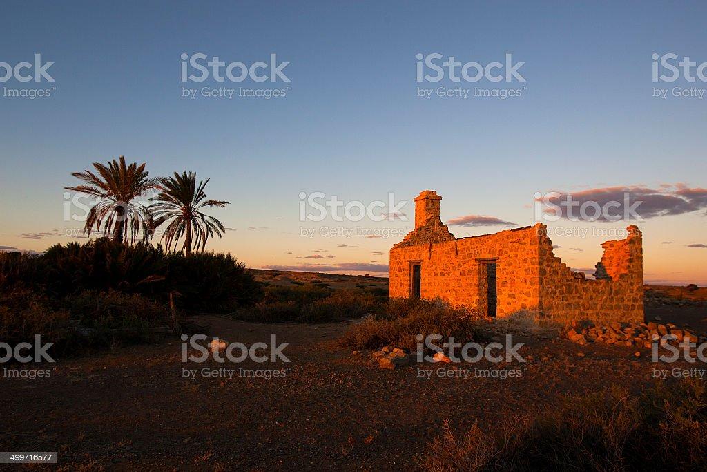 Abandoned Miners Hut, Leonora, Western Australia, Australia royalty-free stock photo