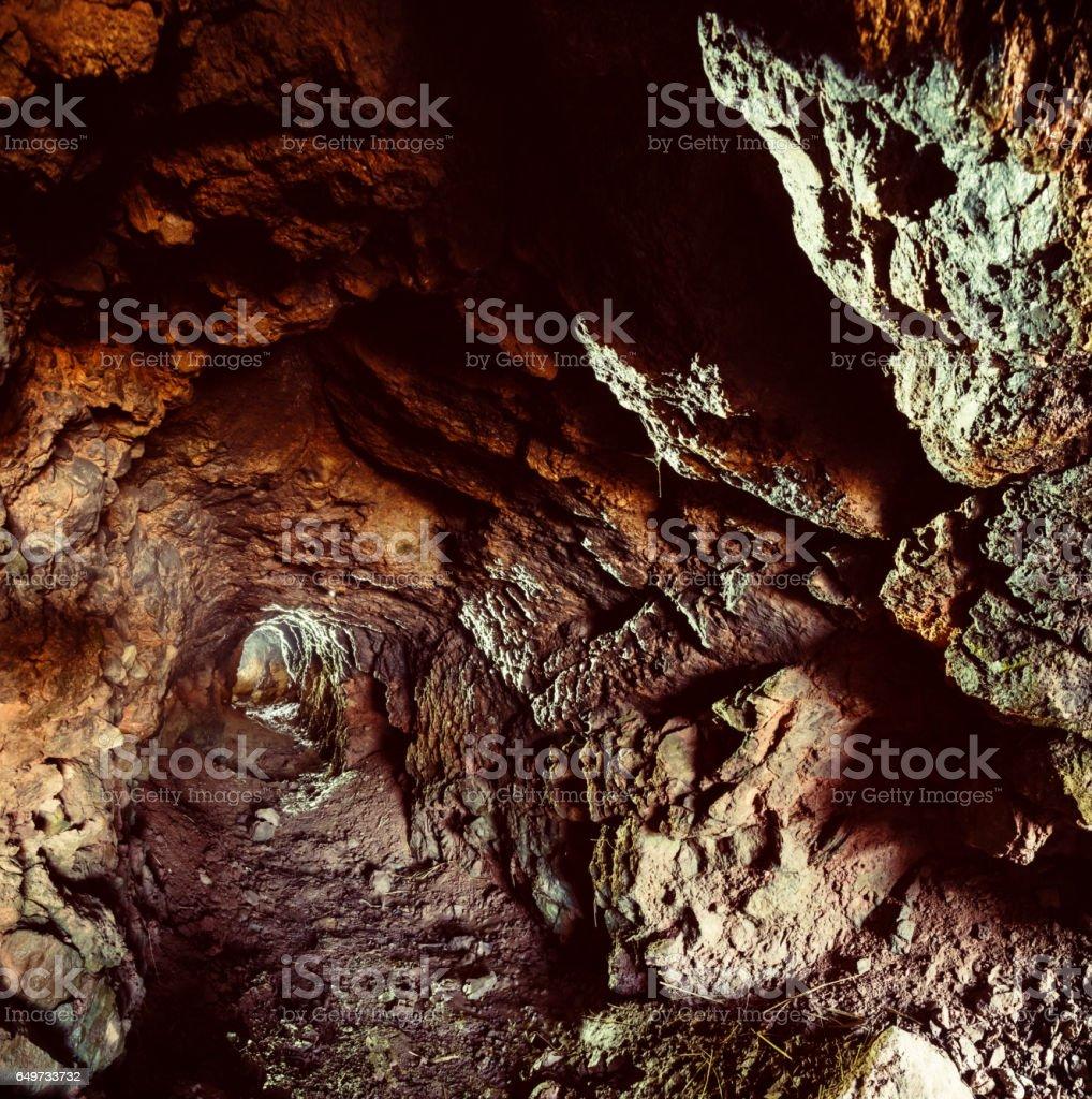 Abandoned Mineshaft stock photo