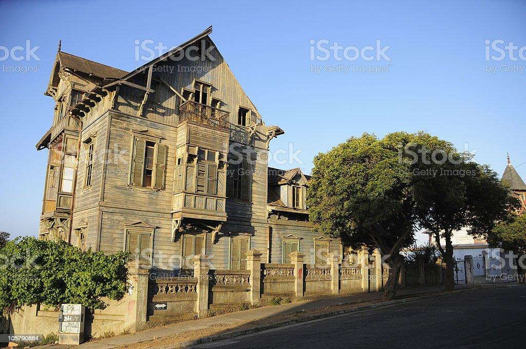 Abandoned Old House stock photo