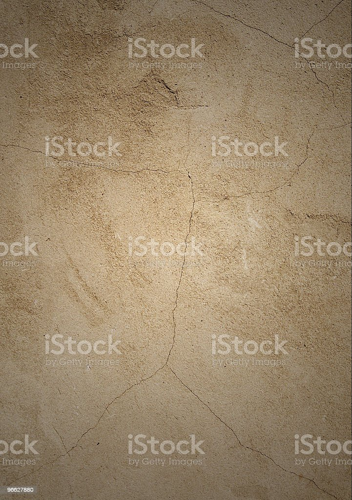Abandoned old wall. royalty-free stock photo