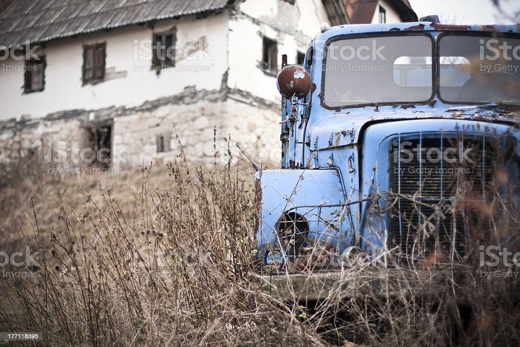 Abandoned place royalty-free stock photo
