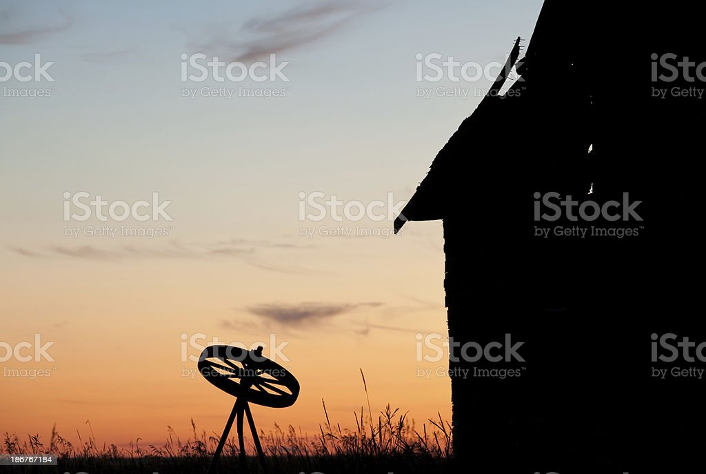 Abandoned Prairie royalty-free stock photo