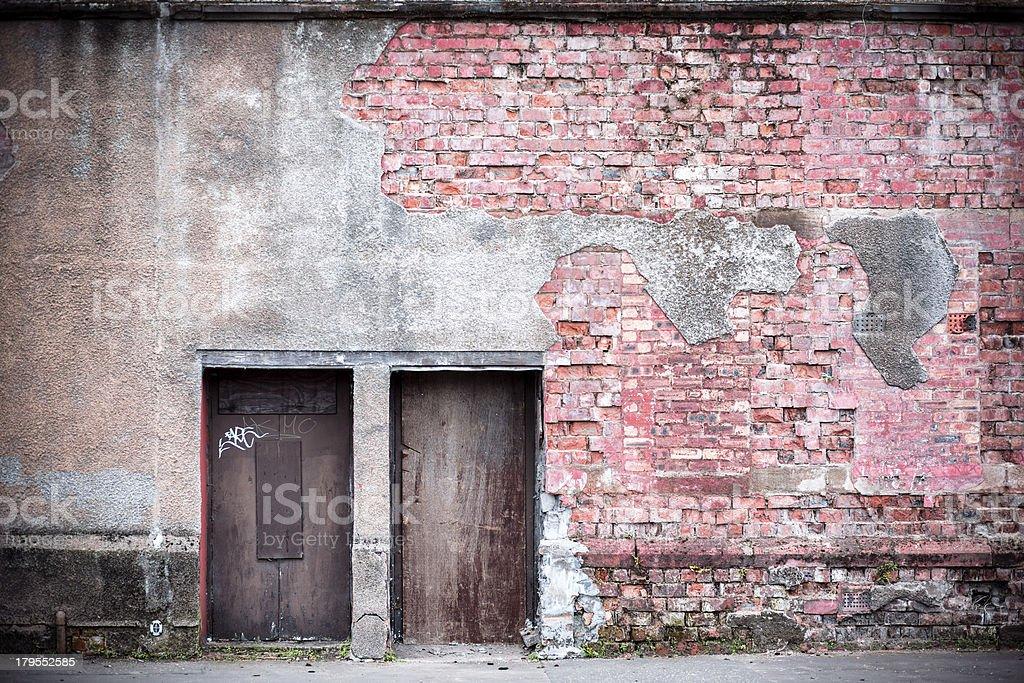 Abandoned Premises royalty-free stock photo