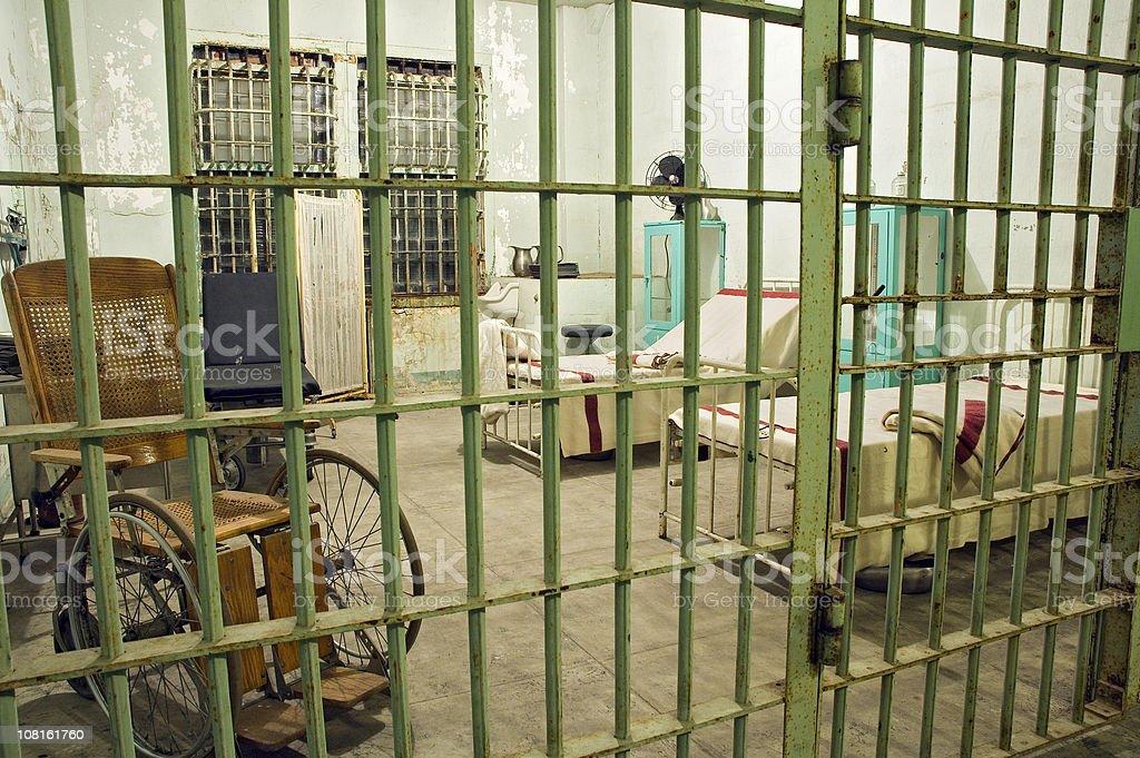 Abandoned Prison Hospital royalty-free stock photo