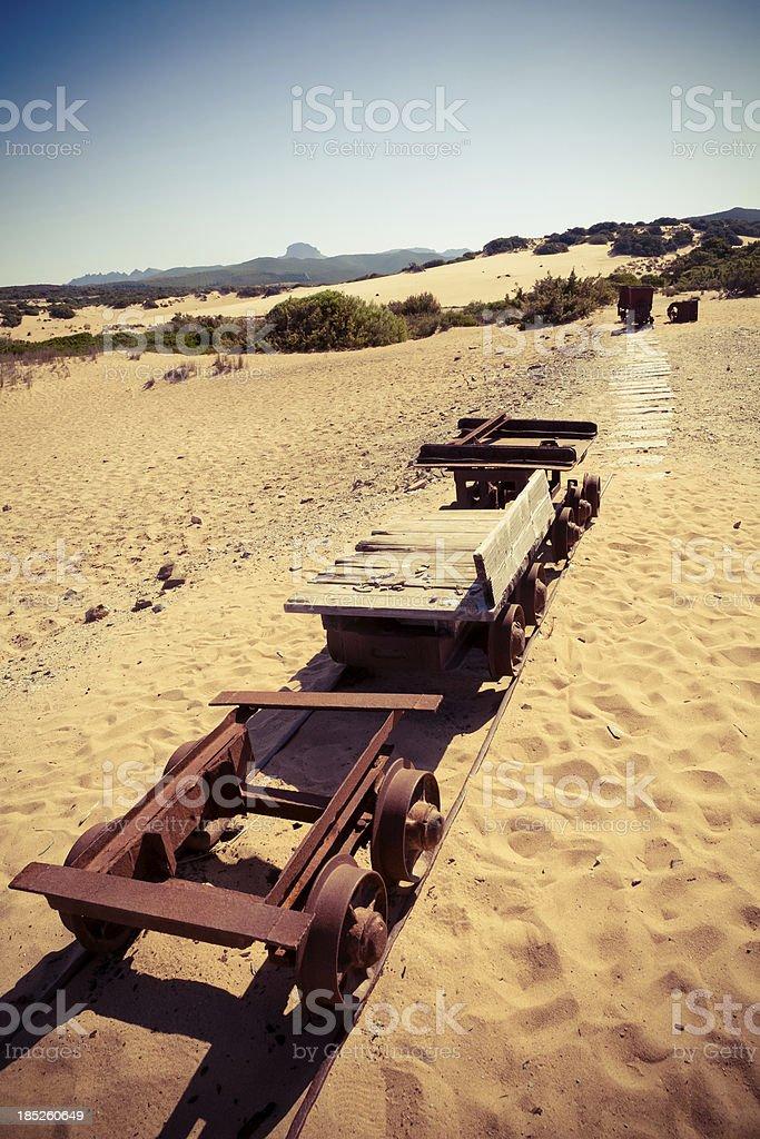 Abandoned Railroad royalty-free stock photo