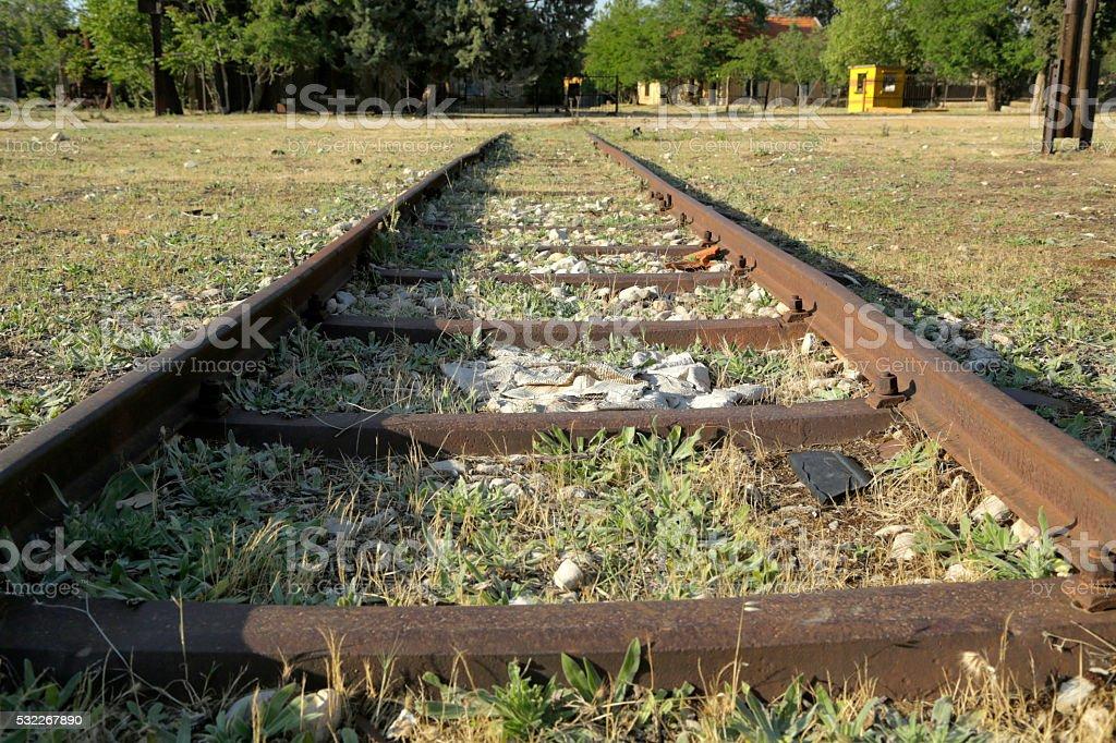 Abandoned Railway stock photo