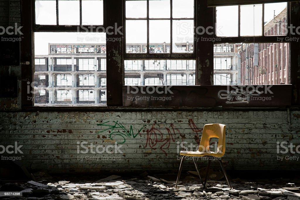 Abandoned School royalty-free stock photo