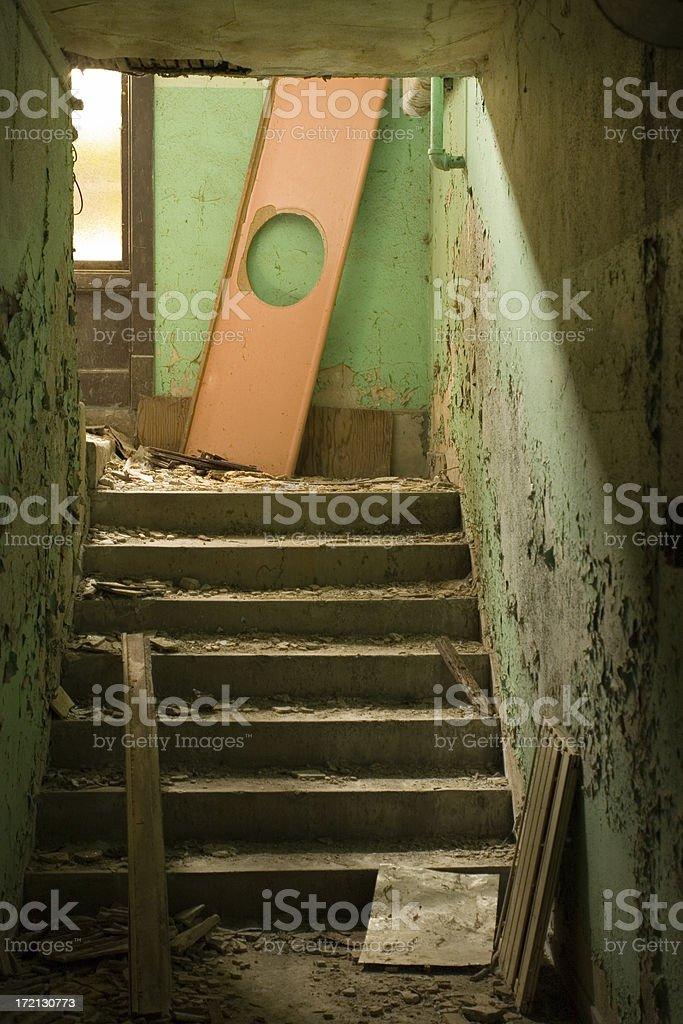 Abandoned Schoolhouse royalty-free stock photo