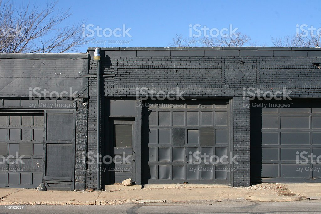 Abandoned Space royalty-free stock photo