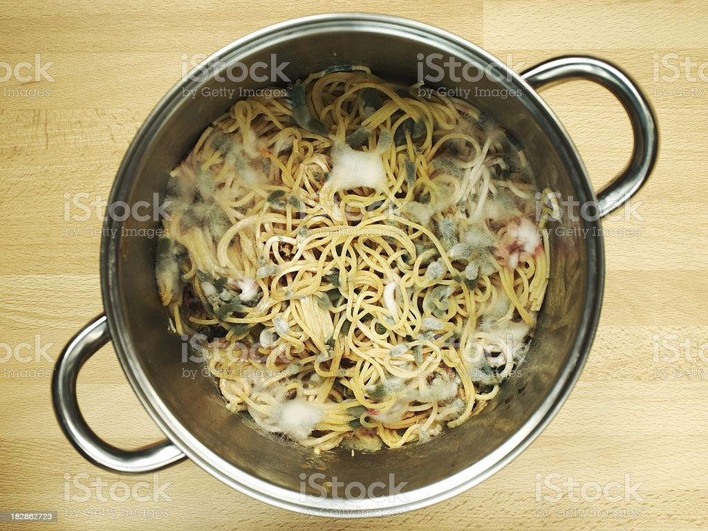 Abandoned spaghetti royalty-free stock photo