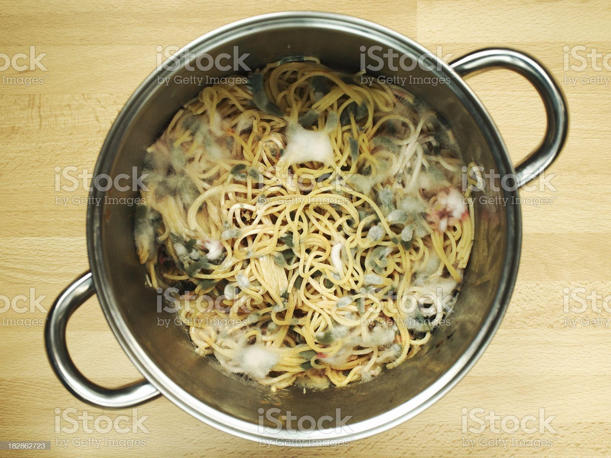 Abandoned spaghetti royalty-free stock photo