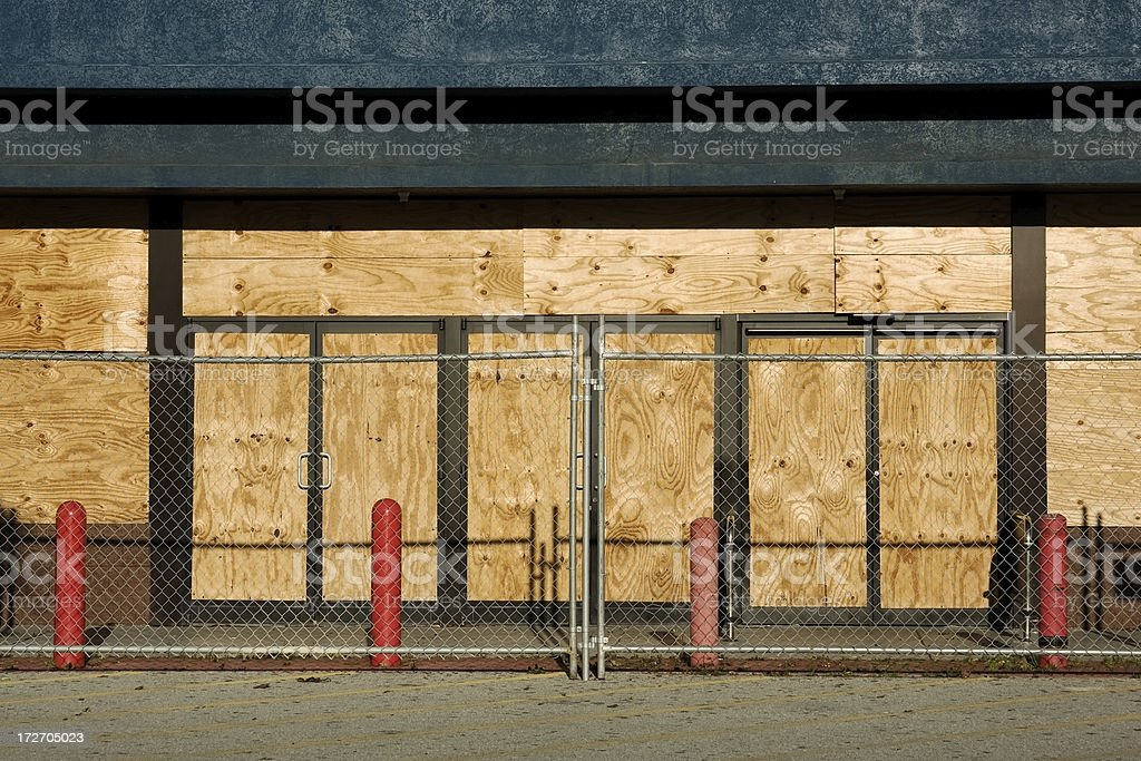 Abandoned Store stock photo