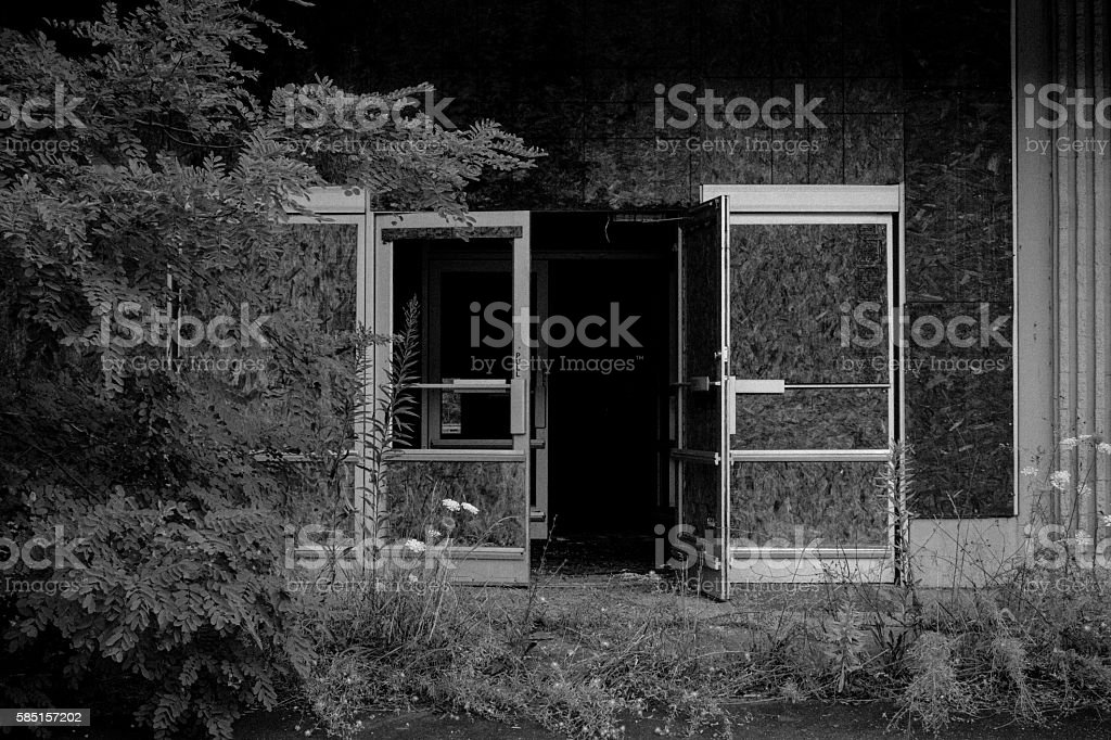 Abandoned Store #1 stock photo
