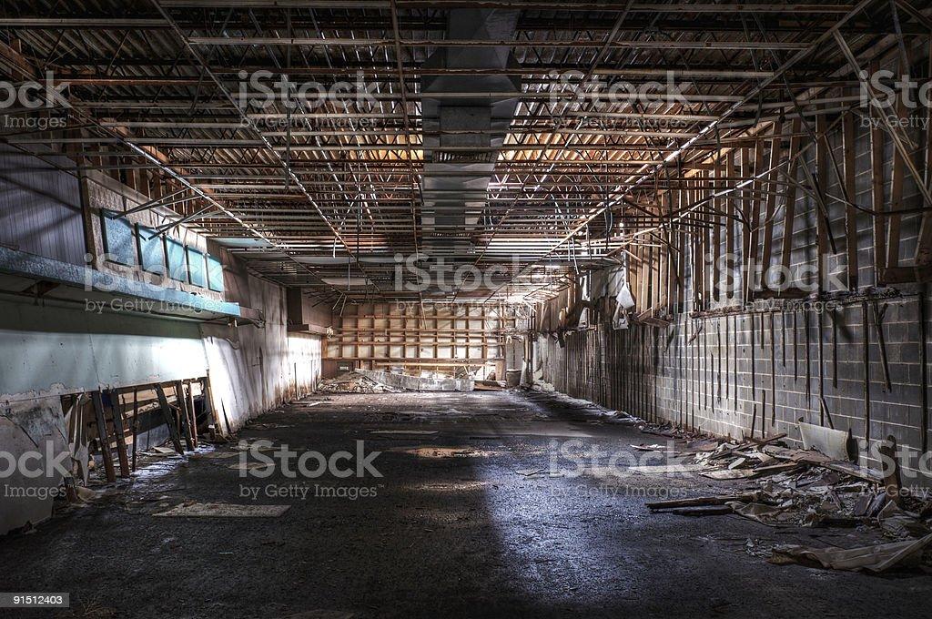 Abandoned Store stock photo
