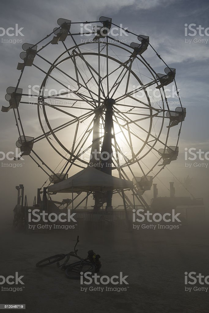 Abandoned Storms stock photo