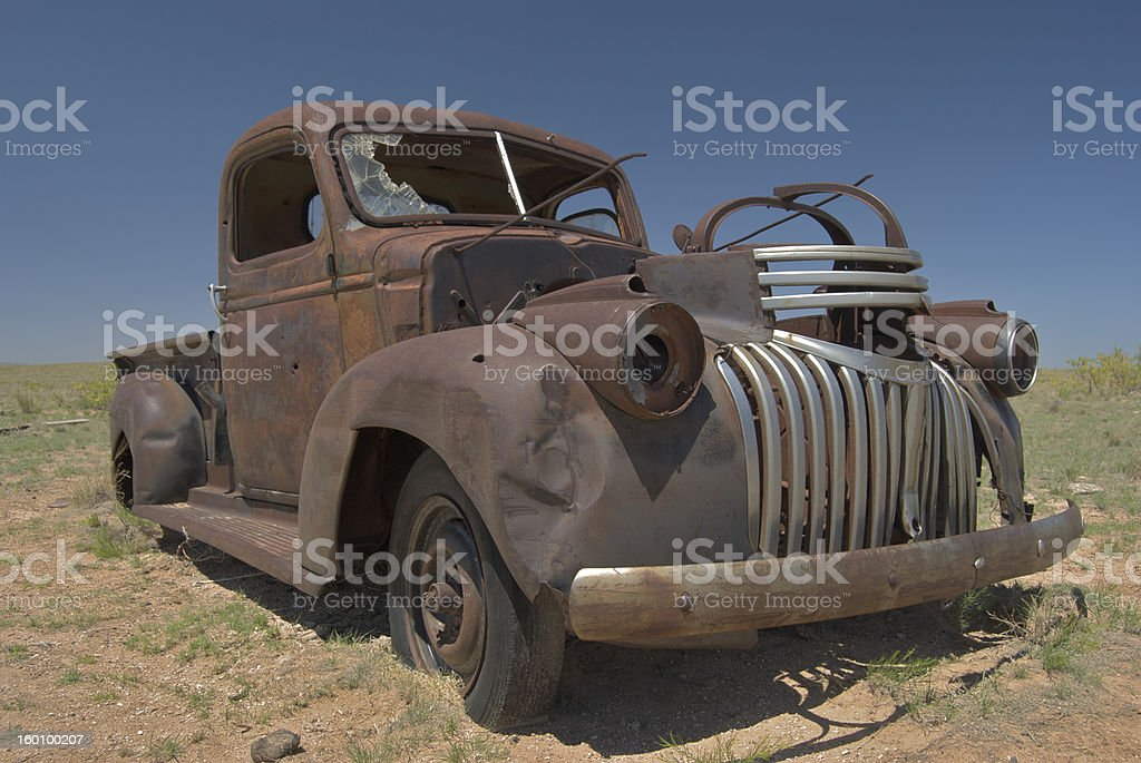 Abandoned Truck stock photo