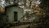 Abandoned Vacation Home In Great Smoky Mountains National Park
