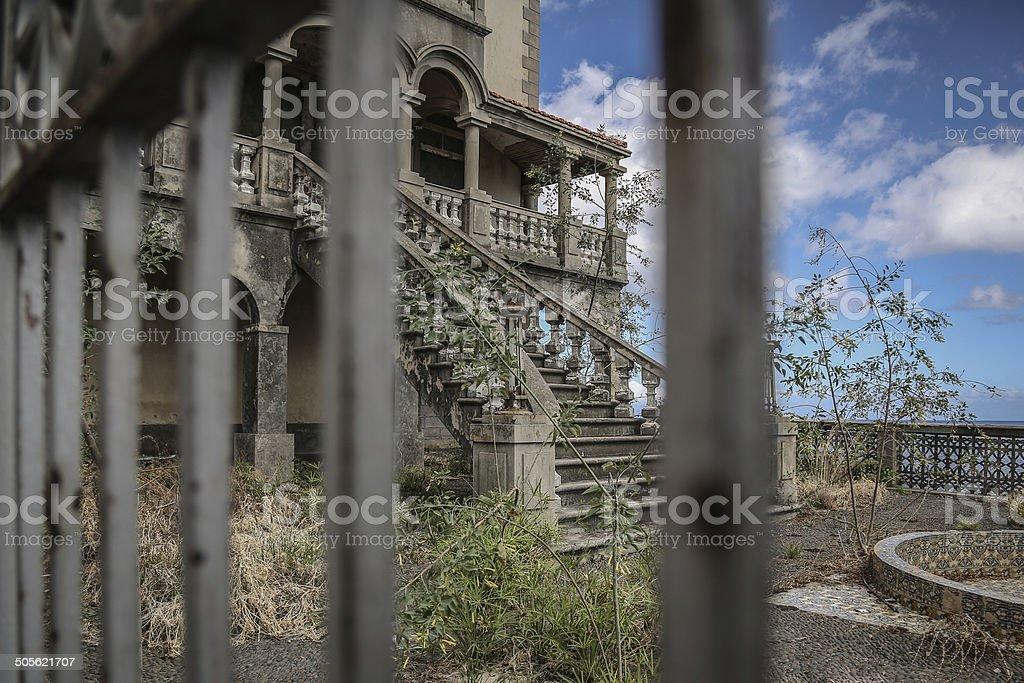Abandoned Villa royalty-free stock photo