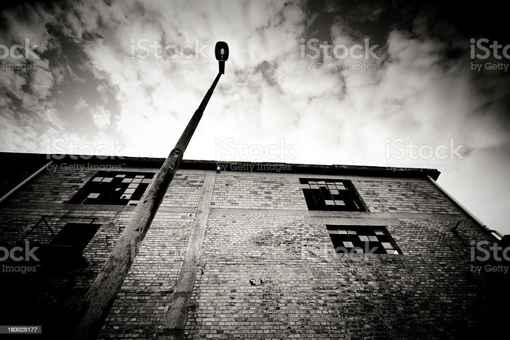 Abandoned warehouse royalty-free stock photo