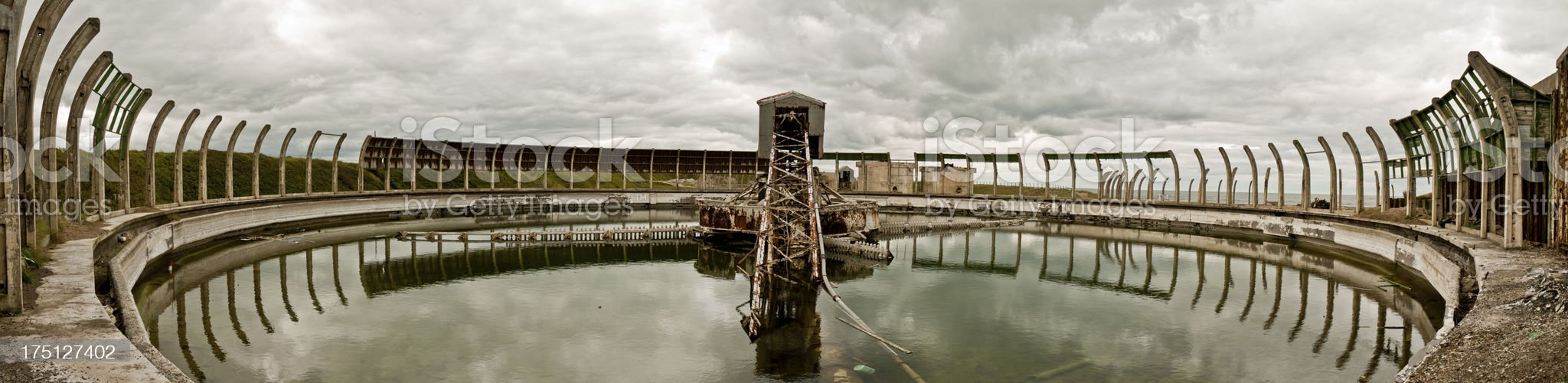 Abandoned Watertower royalty-free stock photo