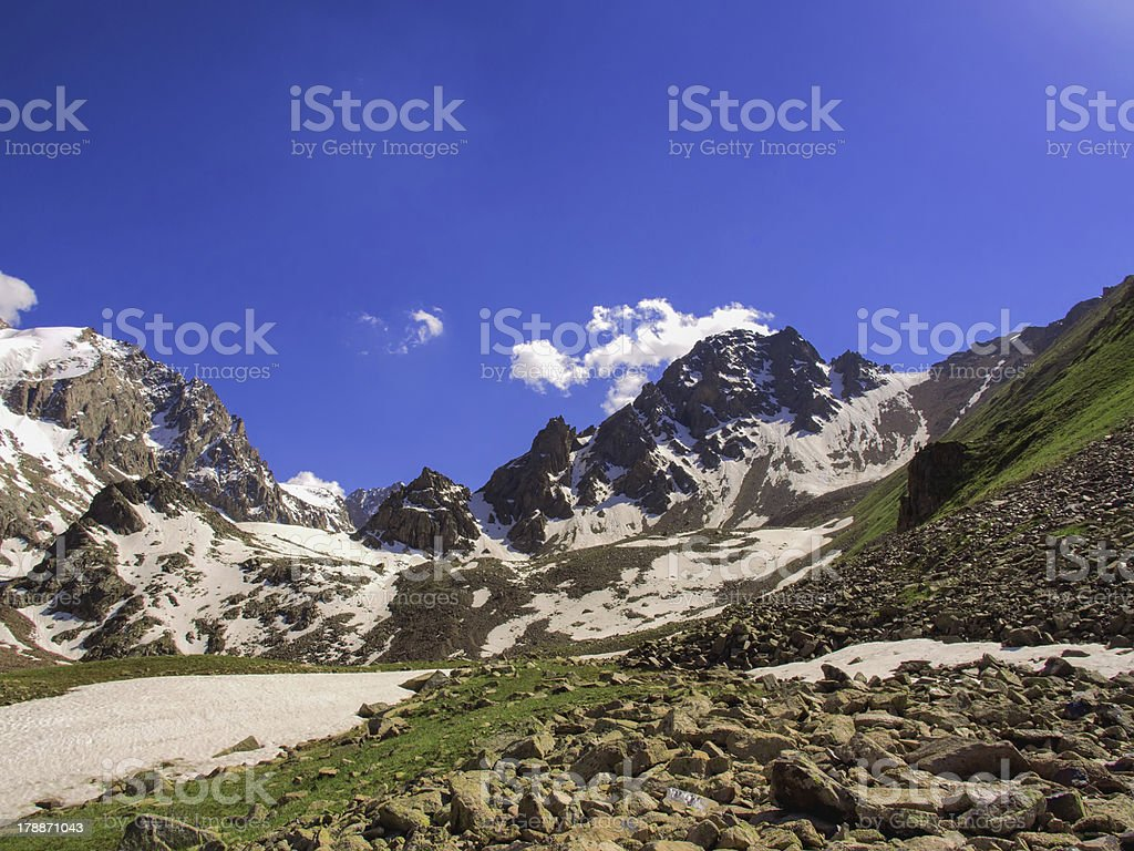 Abay peak royalty-free stock photo