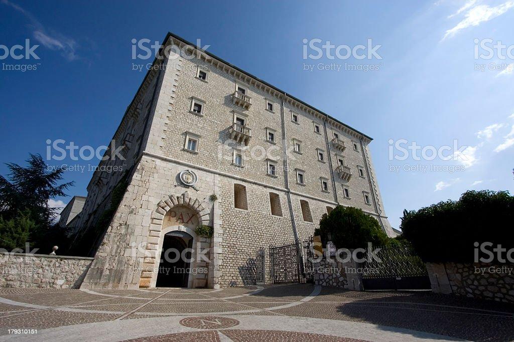 Abbaye royalty-free stock photo