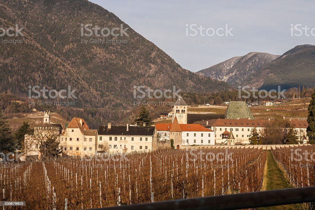 Abbazia di Novacella, Bolzano, Trentino Alto Adige, Italia stock photo