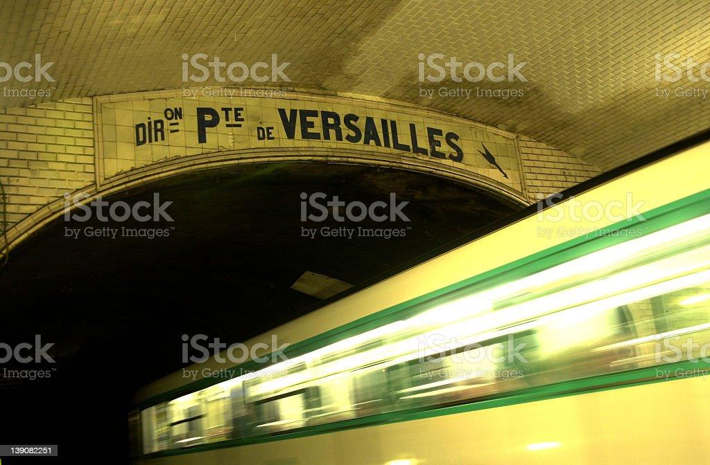 Abbesses metro station (3 of 4 - Paris) royalty-free stock photo