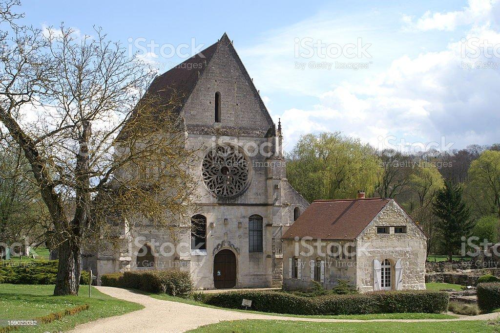 Abbey of Lieu-Restaur? stock photo