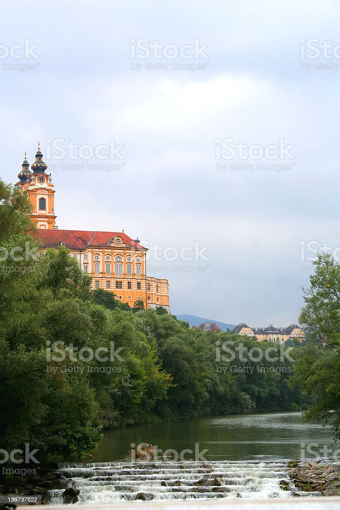 Abbey of Melk royalty-free stock photo