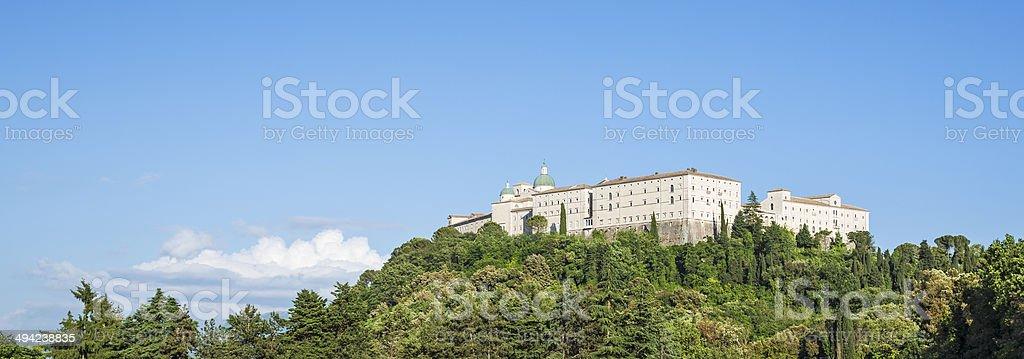 Abbey of Montecassino near Cassino in Lazio, Italy royalty-free stock photo