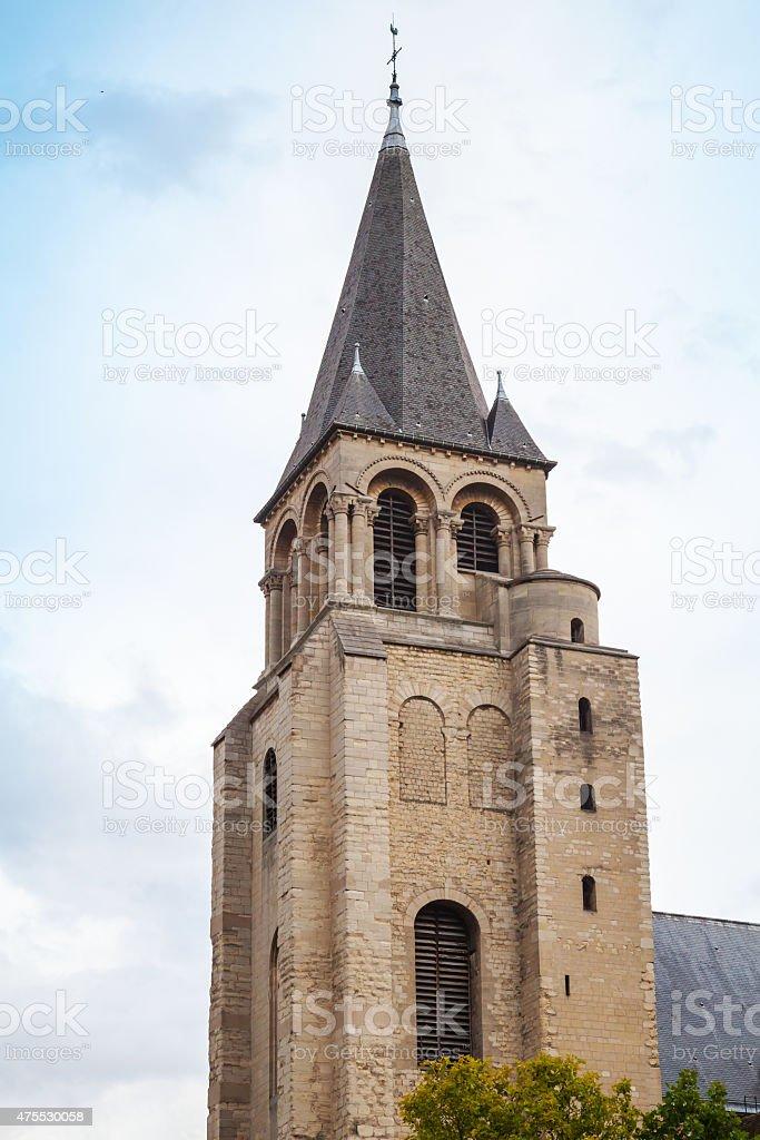 Abbey of Saint Germain des Pres, Paris, France stock photo