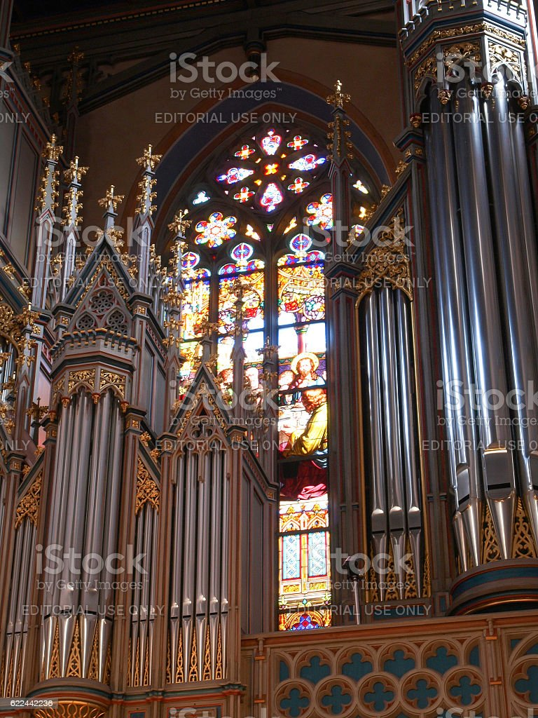 Abbey of St. Gall. stock photo