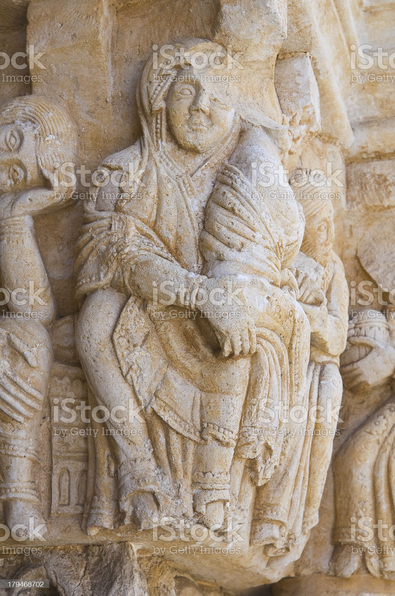 Abbey of St. Leonardo. Manfredonia. Puglia. Italy. royalty-free stock photo