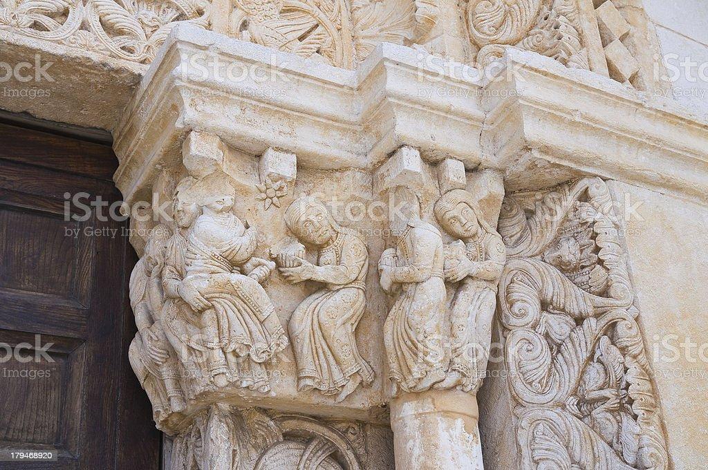 Abbey of St. Leonardo. Manfredonia. Puglia. Italy. royalty-free stock photo