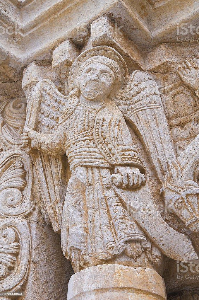Abbey of St. Leonardo. Manfredonia. Puglia. Italy. stock photo