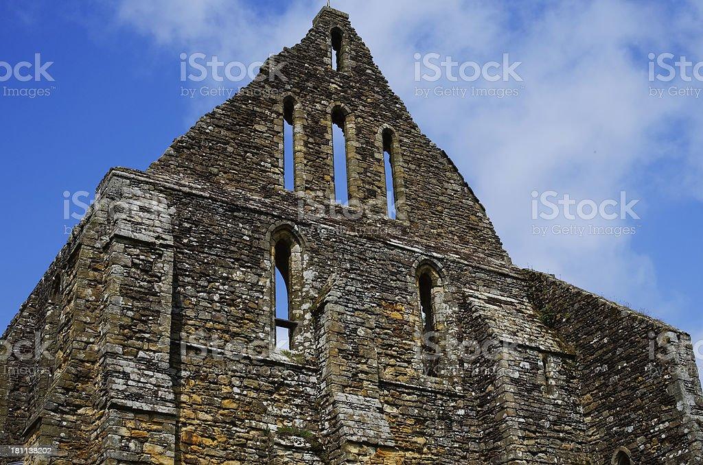 abbey stock photo