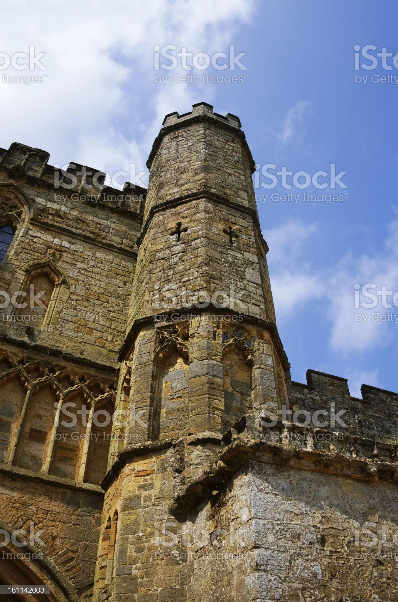 abbey royalty-free stock photo