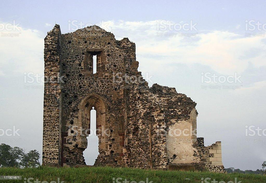 Abbey ruin royalty-free stock photo
