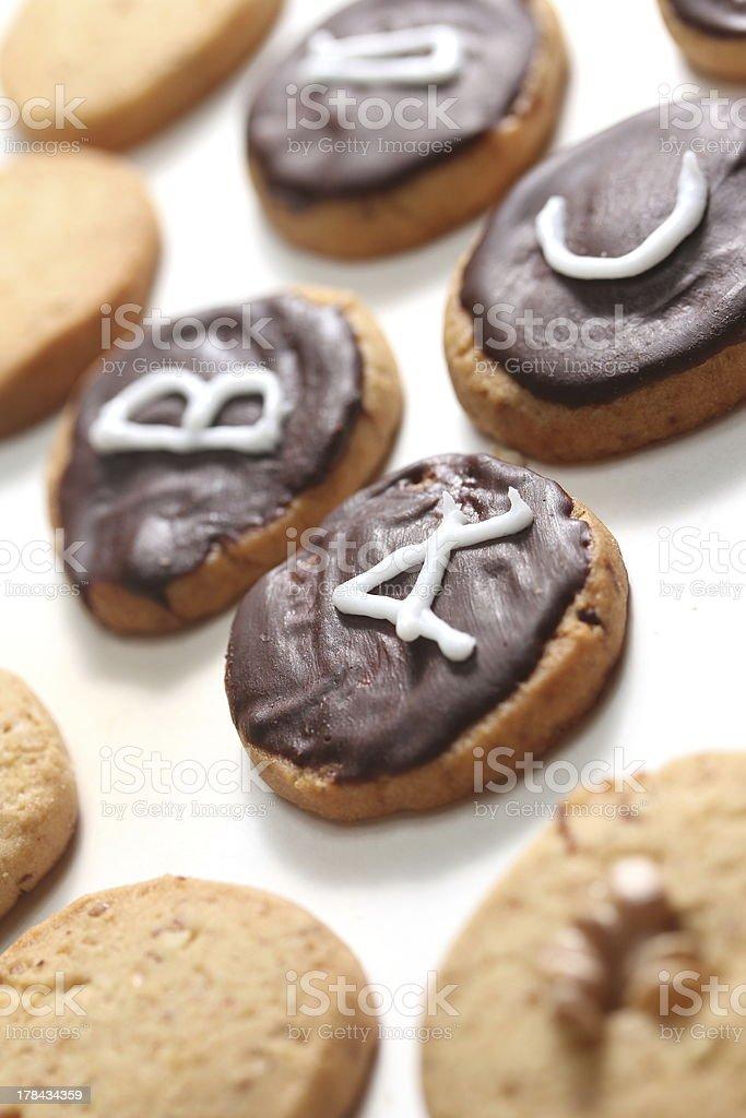 abc cookies royalty-free stock photo