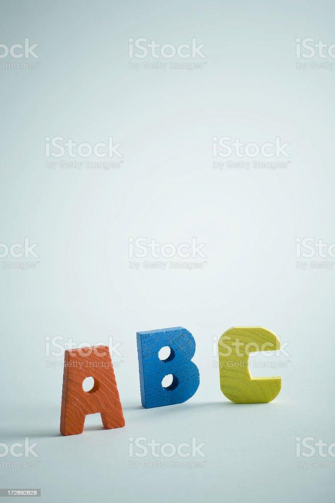 Abc royalty-free stock photo