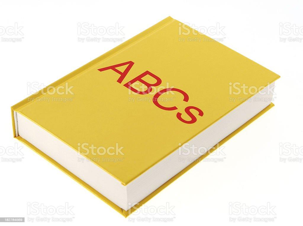 ABCs Book royalty-free stock photo
